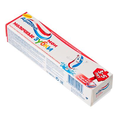 929-016 Зубная паста Аквафреш Мои молочные зубки детская туба 50мл, NS7093900