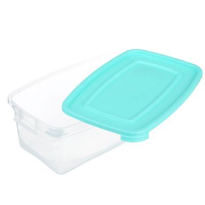 867-080 Контейнер пищевой прямоугольный 1 л, пластик, Каскад Полимербыт