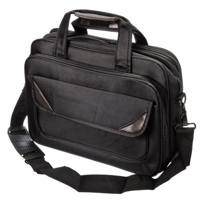 328-242 Сумка для ноутбука 14 дюймов, 35х26х12см, полиэстер, черный, СВ2016-4