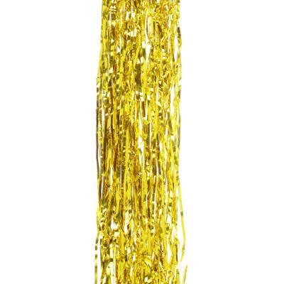 377-292 СНОУ БУМ Дождик 100х9см, ПВХ, 2 цвета, золото и серебро, арт.10-02