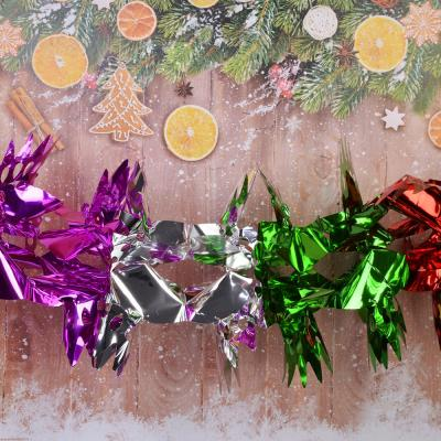 377-296 СНОУ БУМ Гирлянда-растяжка 150х23см, ПВХ, многоцвет, арт.0019