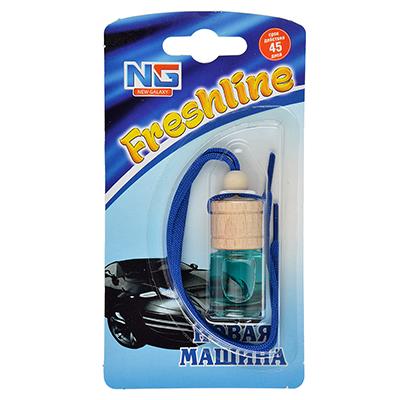 """794-344 Ароматизатор в машину подвесной, аромат новая машинав, """"Freshline"""""""