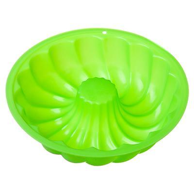 """856-084 Форма для выпечки силиконовая, 13х3,5см, """"Пудинг"""" 4 цвета"""