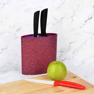 838-025 Подставка для ножей с полипропиленовыми разделителями, 16x6,5x16см, SATOSHI