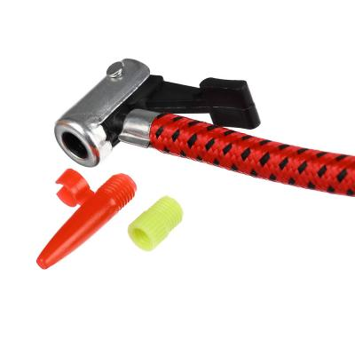 108-006 SILAPRO Насос ножной с манометром, металл, 23x7см