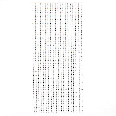 "496-003 Занавеска межкомнатная декоративная, пластик, 80x180см ""Коллаж"""