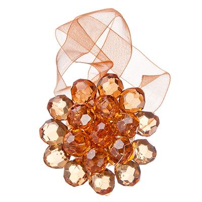 """491-377 Зажим для штор магнитный, 1-сторонний, 5 цветов, """"Кристаллы"""""""