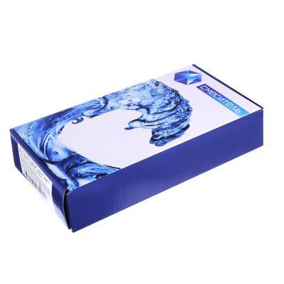 566-243 Смеситель для кухни с боковой ручкой, гибкий излив, керамический картридж 35 мм, хром, без подводки,
