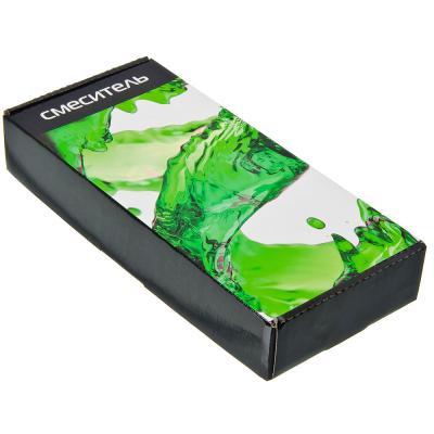 566-252 Смеситель для кухни с боковой ручкой, керамический картридж 35 мм, черный, без подводки, FRESSO ЭКО