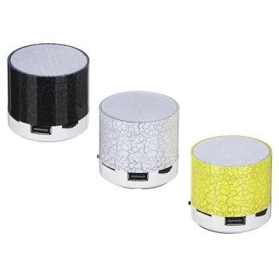 916-008 FORZA Аудио-колонка беспроводная, MicroSD, 200мач., DC5V, 3w 6х5см., 3 цвета