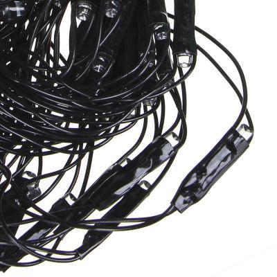 362-074 Гирлянда электрическая сетка СНОУ БУМ 224 LED, мультицвет, 8 режимов, ПВХ провод, 220В