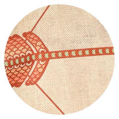 482-549 Декоративная наволочка для подушки рогожка, 40х40см