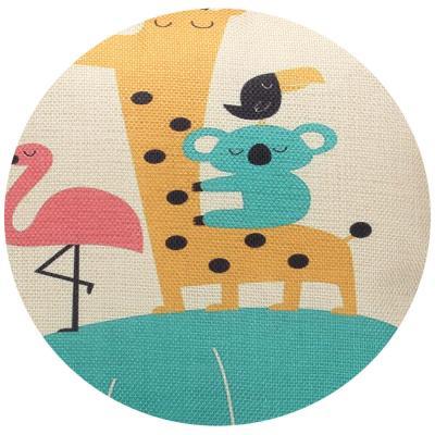 482-552 Декоративная наволочка для подушки рогожка, 40х40см