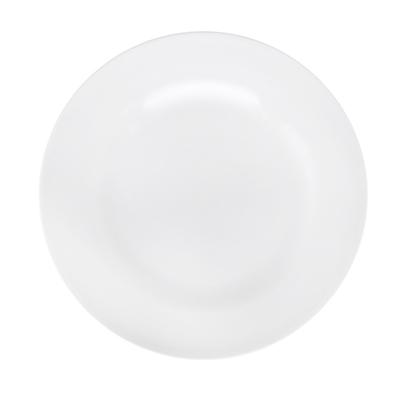 814-108 Без рисунка Тарелка мелкая 200 мм, белый, фарфор