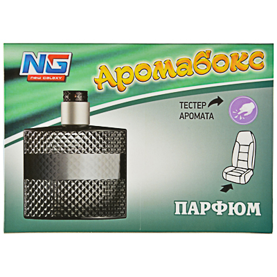 "794-358 Ароматизатор в машину под сиденье, аромат парфюм, ""Аромабокс"" NEW GALAXY"