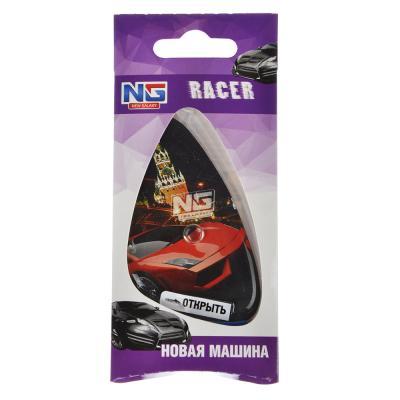 """794-366 Ароматизатор для  автомобиля, аромат новая машина, подвесной гелевый, """"Racer"""" NEW GALAXY,"""