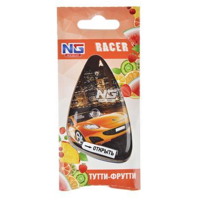 """794-369 Ароматизатор для  автомобиля, аромат тутти фрутти, подвесной гелевый, """"Racer"""" NEW GALAXY"""