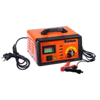 """721-002 Пуско-зарядное устройство автомат с функцией """"быстрый старт"""", 2/10/55A, 6/12В, металл, ЕРМАК"""