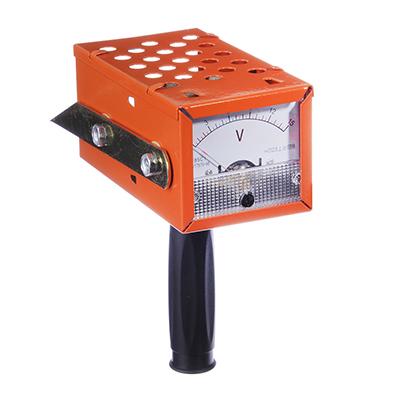 Вилка нагрузочная (для измерения напряжения у АКБ 12В) кабель с зажимом, 2 электрода