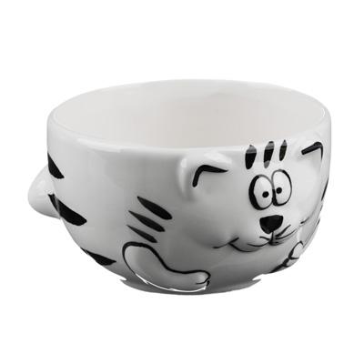 824-665 MILLIMI Милый котик Салатник, 420мл, керамика