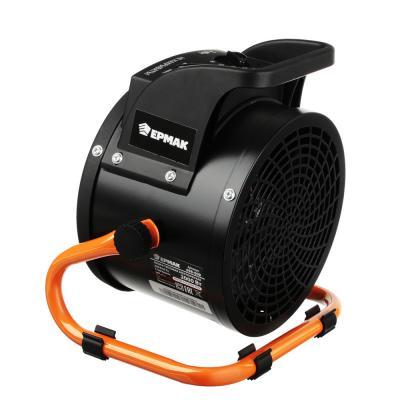 698-008 ЕРМАК Тепловая пушка электр., 2кВт, 197М3, 1720ккал/ч, 3 реж (0,025/1/ 2кВт) керам.нагр, BGP1506-02