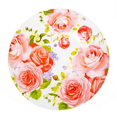 830-417 VETTA Летний сад Тарелка десертная стекло 200мм, S3008