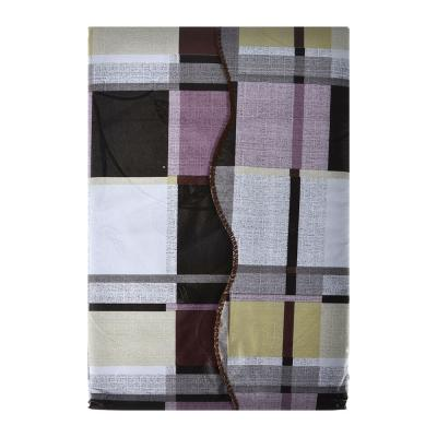 479-149 Скатерть на стол виниловая, на фланелевой основе, 140х180см, ПЕВА