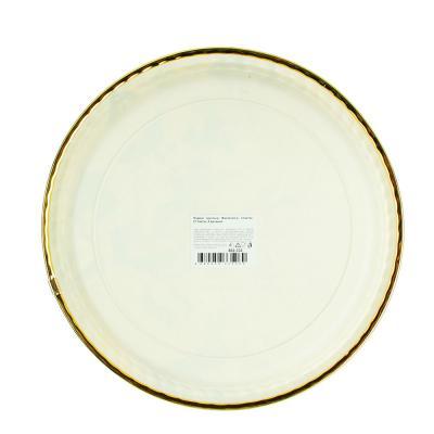 862-332 Поднос круглый, Фантазия-2, пластик, 27,5х2см, 4 дизайна