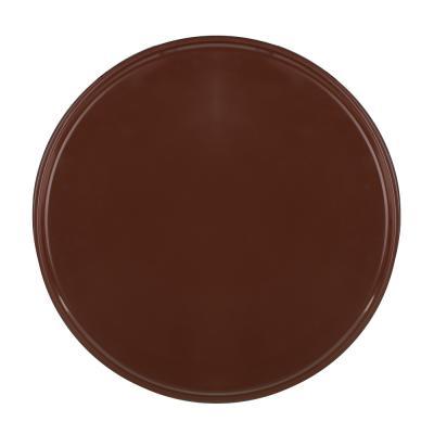 862-334 Поднос круглый с антискользящим покрытием ПВХ, пластик, 35,5см