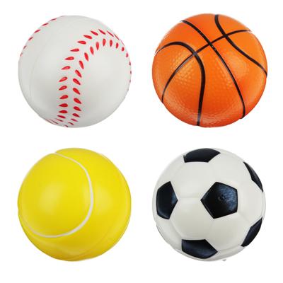 """262-219 Мяч """"Спорт"""", ПВХ, 7,6см, 4 дизайна"""