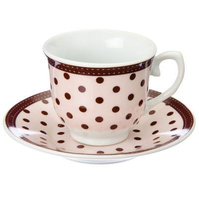 821-435 Набор чайный 12 пр., 90мл, фрф, 3 цвета, в подар.уп., арт. NP-2005.6