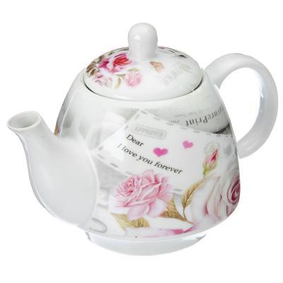 824-708 Набор для чаепития 2 пр., (чайник 400мл, кружка 280мл), керамика, арт. NP-2005.9