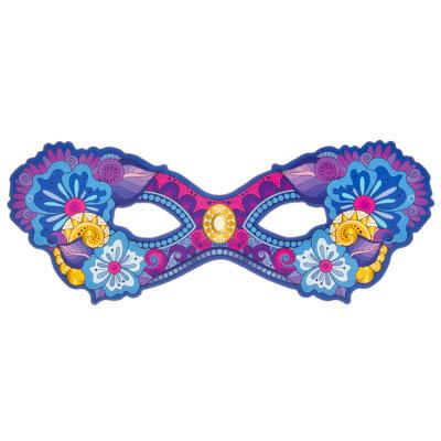 391-180 СНОУ БУМ Маска-очки карнавальная, картон
