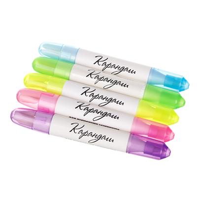 357-107 Карандаш для коррекции дефектов маникюра с насадками, пластик, 5 цветов