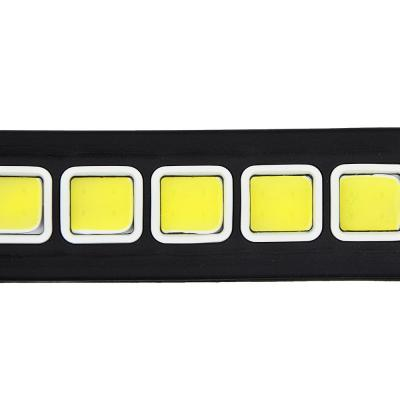 702-036 NEW GALAXY Дневные ходовые огни, LED 40шт, гибкий резин. корп., 260мм, 12V, белый, 2шт.