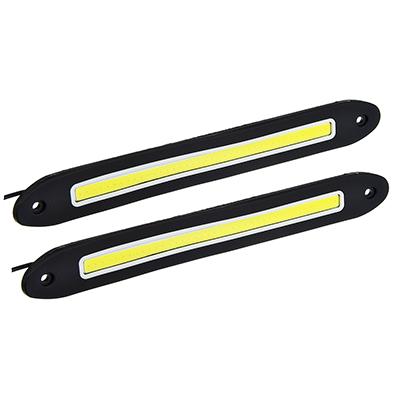 702-070 NEW GALAXY Дневные ходовые огни, LED 80шт, гибкий резин. корп., 255мм, 12V, белый, 2шт