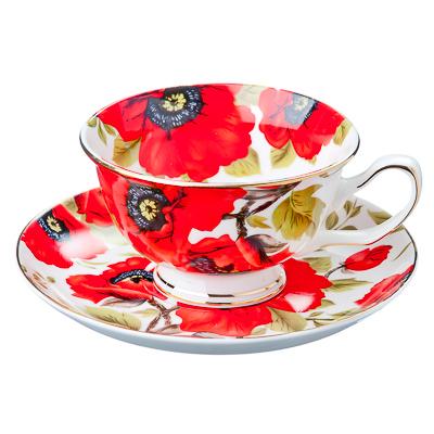 821-475 Констанция Набор чайный 12 пр., 200мл, костяной фарфор, подар. уп.