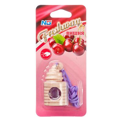 """794-387 Ароматизатор для автомобиля подвесной, аромат вишня, """"Freshway"""""""