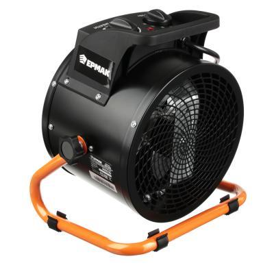 698-009 ЕРМАК Тепловая пушка электр., 3кВт, 280М3, 3 реж (0,03/1,5/ 3,0кВт), керам.нагр