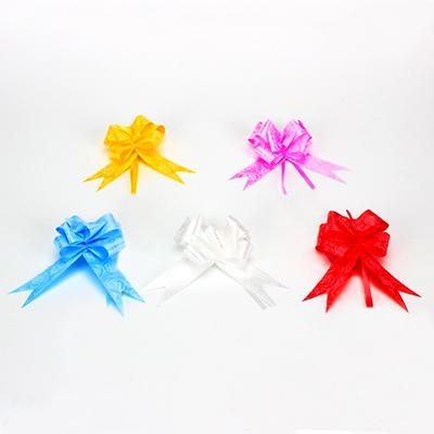507-705 Набор бантов в форме бабочки 3шт, ПЭТ, 3x50см, 5 цветов, арт.019