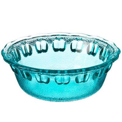 877-529 Марлин Миска малая, 13,5x4,5см, стекло, синий
