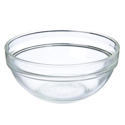 877-533 Миска средняя, 12,5x5,5см, стекло, прозрачный