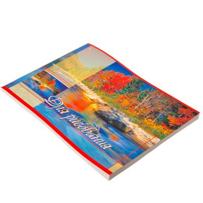 583-100 Альбом для рисования 40л, А4, бумага, 29х21, Хатбер, Ландшафты Европы, А069-899 40АИС 01930