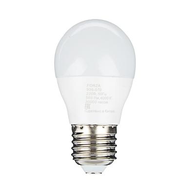 935-070 FORZA Лампа светодиодная G45 7W, E27, 560lm 4000К