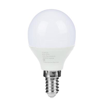 935-073 FORZA Лампа светодиодная G45 5W, E14, 400lm 4000К