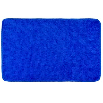 462-570 VETTA Коврик для ванной, акриловый ворс 1,2см, 50х80см, однотонный голубой, Дизайн GC