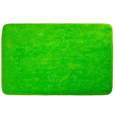 462-571 VETTA Коврик для ванной, акриловый ворс 1,2см, 50х80см, однотонный зелёный, Дизайн GC