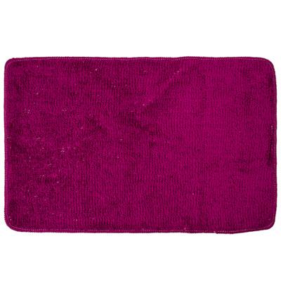 462-573 VETTA Коврик для ванной, акриловый ворс 1,2см, 50х80см, однотонный фиолет, Дизайн GC