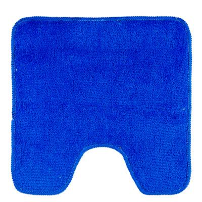 462-574 VETTA Коврик для туалета 50x50см, однотонный голубой, Дизайн GC