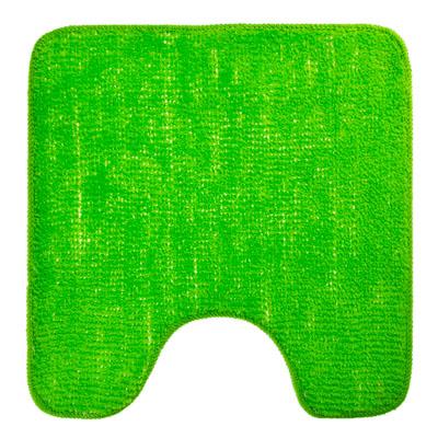 462-575 VETTA Коврик для туалета 50x50см, однотонный зелёный, Дизайн GC